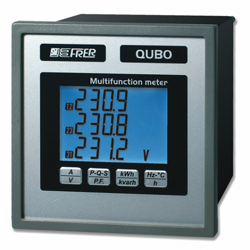 Controlin - De Qubo is een power analyser 100-289V uit de Qubo-serie van Frer.